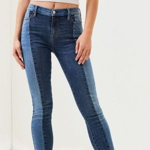 Pacsun Two toned jeans